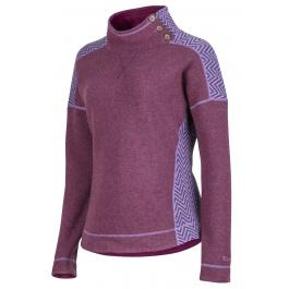 Свитер женский Marmot Wm's Vivian Sweater | Red Grape | Вид 1
