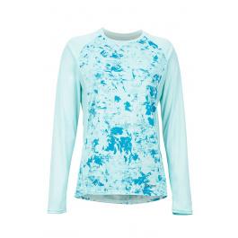 Футболка женская Marmot Wm's Crystal LS | Blue Tint Mind Game | Вид 1