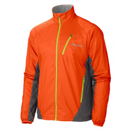 Ветровка Marmot Stride Jacket | Sunset Orange/Slate Grey | Вид 1