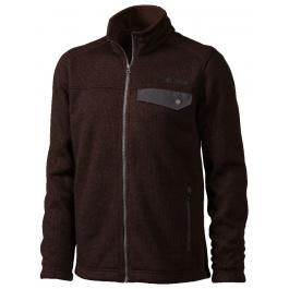 Куртка из флиса Marmot Poacher Pile Jacket | Rich Brown Heather | Вид 1