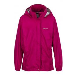Куртка детская Marmot Girl'S Precip Jacket   Sangria   Вид 1