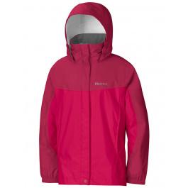 Куртка детская Marmot Girl'S Precip Jacket | Raspberry/Dark Raspberry | Вид 1