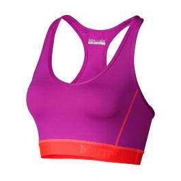 Майка женская Marmot Wm's Layer Up Sportsbra | Beet Purple/Bright Pink | Вид 1