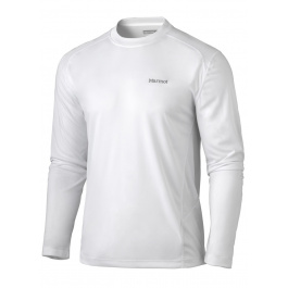 Футболка Marmot Windridge LS | White | Вид 1