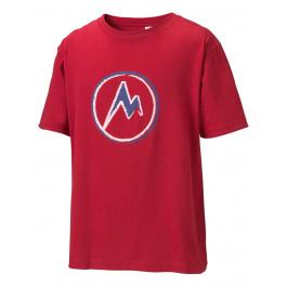 Футболка детская Marmot Boy's Mdot T - Shirt | Cardinal | Вид 1