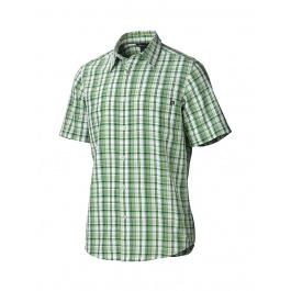 Рубашка Marmot Baywood SS | Green Lichen | Вид 1