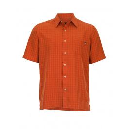 Рубашка Marmot Eldridge SS | Orange Haze | Вид спереди