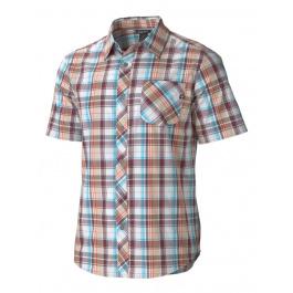 Рубашка Marmot Dexter Plaid SS | Port Royal | Вид 1
