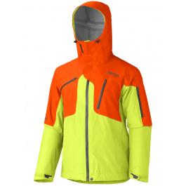 Куртка Marmot Big Mountain Jacket | Green Lime/Sunset Orange | Вид 1