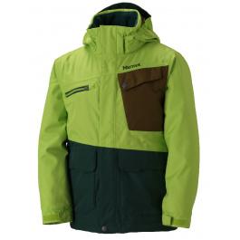 Куртка детская Marmot Boy's Space Walk Jacket | Vermouth/Deep Forest | Вид 1