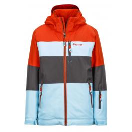 Куртка детская Marmot Boy's Headwall Jacket | Bluefish/Mars Orange | Вид 1