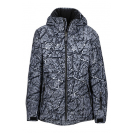 Куртка детская Marmot Boy's Powderhorn Jacket | Black Shred | Вид 1
