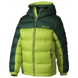Куртка детская Marmot Boy's Guides Down Hoody   Vermouth/Deep Forest   Вид 1