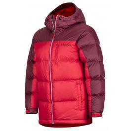 Куртка детская Marmot Guides Down Hoody Jr. | Team Red/Port | Вид 1