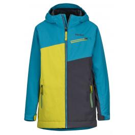 Куртка детская Marmot Boy's Thunder Jacket | Enamel Blue/Citronelle | Вид 1