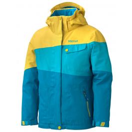 Куртка детская Marmot Girl'S Moonstruck Jacket | Aqua Blue/Yellow Vapor | Вид 1