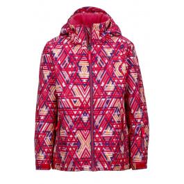 Куртка детская Marmot Girl's Big Sky Jacket   Pink Lotus Geo   Вид 1