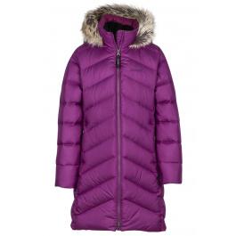 Пальто детское Marmot Girl's Montreaux Coat | Deep Plum | Вид 1