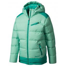 Куртка детская Marmot Girl's Sling Shot Jacket | Green Frost/Gem Green | Вид 1
