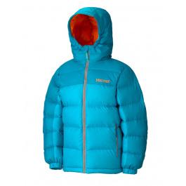 Куртка детская Marmot Girl'S Guides Down Hoody | Sea Glass/Sea Green | Вид 1