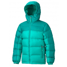Куртка детская Marmot Girl'S Guides Down Hoody | Lush/Emerald Green | Вид 1