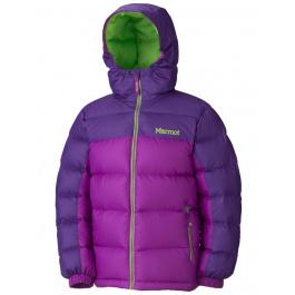 Куртка детская Marmot Girl'S Guides Down Hoody | Bright Berry/Dark Berry | Вид 1