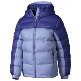 Куртка детская Marmot Girl'S Guides Down Hoody | Pale Dusk/Gemstone | Вид 1