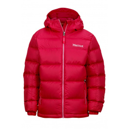 Куртка детская Marmot Girl'S Guides Down Hoody | Pink Rock | Вид 1