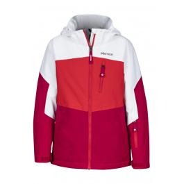 Куртка детская Marmot Girl's Elise Jacket | Bright Ruby/White | Вид 1