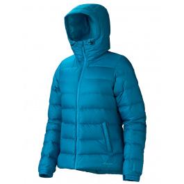 Куртка женская Marmot Wm's Guides Down Hoody   Aqua Blue   Вид 1
