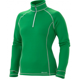 Пуловер женский Marmot Wm's Power Stretch Half Zip | Fern | Вид 1
