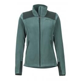 Куртка женская Marmot Wm's Flashpoint Jacket   Mallard Green/Dark Spruce   Вид спереди