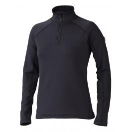 Пуловер женский Marmot Wm's Stretch Fleece 1/2 Zip | Black | Вид 1