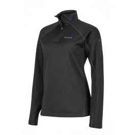 Пуловер женский Marmot Wm's Stretch Fleece 1/2 Zip   Black   Вид 1