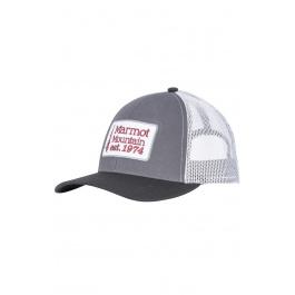 Кепка Marmot Retro Trucker Hat   Dark Steel/Black   Вид 1
