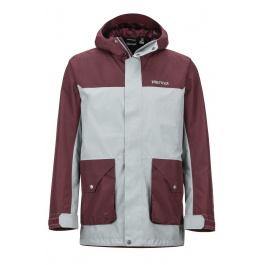 Куртка Marmot Wend Jacket | Grey Storm/Burgundy | Вид 1