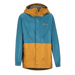 Куртка детская Marmot Boy's PreCip Eco Jacket | Late Night/Aztec Gold | Вид 1