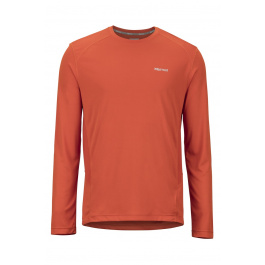 Футболка Marmot Windridge LS | Orange Haze | Вид спереди