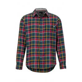 Рубашка Marmot Fairfax Midweight Flannel LS | Team Red | Вид спереди