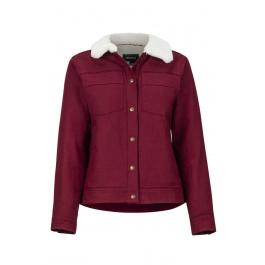 Рубашка женская Marmot Wm's Ridgefield Sherpa Lnd LS | Claret | Вид спереди