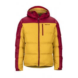 Куртка Marmot Guides Down Hoody | Golden Leaf/Brick | Вид 1