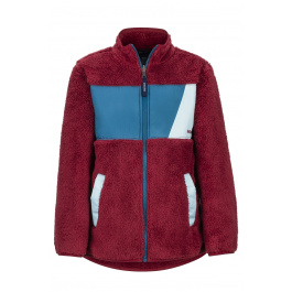 Куртка детская Marmot Boy's Roland Fleece | Brick/Moroccan Blue | Вид 1