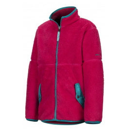 Куртка детская Marmot Girl's Lariat Fleece | Disco Pink | Вид 1