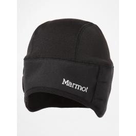Шапка мужская Marmot Windstopper Beanie | Black | Вид 1