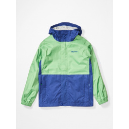 Куртка для мальчика Marmot Kid's PreCip Eco Jacket | Emerald/Royal Night | Вид 1