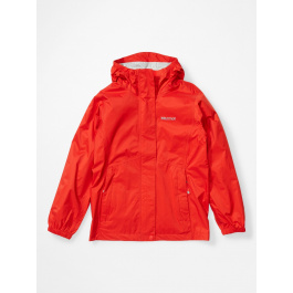 Куртка для девочки Marmot Girl's PreCip Eco Jacket | Victory Red | Вид 1