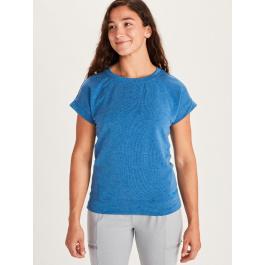 Футболка женская Marmot Wm's Morgan SS | Classic Blue Heather | Вид 1