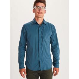 Рубашка мужская Marmot Runyon LS   Denim   Вид 1