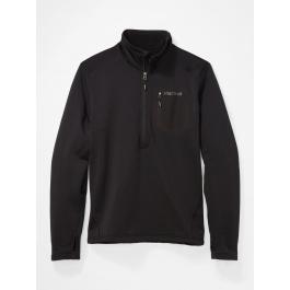 Пуловер мужской Marmot Olden Polartec 1/2 zip | Black | Вид 1
