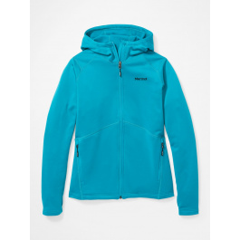 Куртка женская Marmot Wm's Olden Polartec Hoody | Enamel Blue | Вид 1